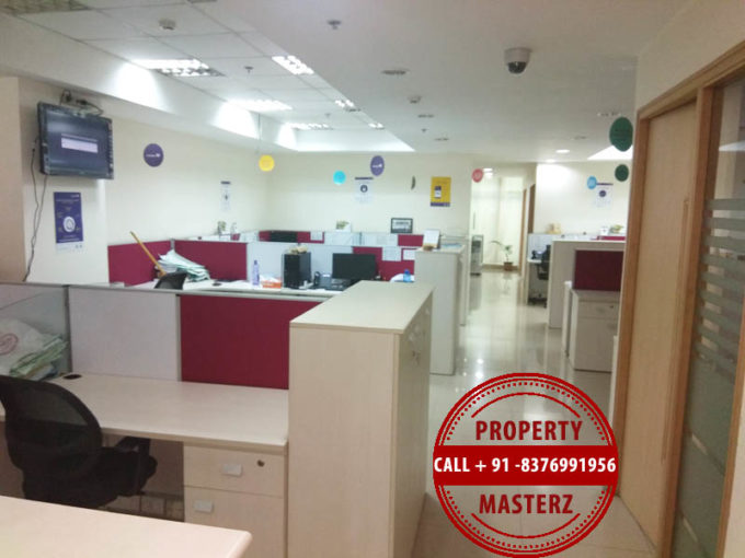 Furnished office space on rent dlf Tower  in  jasola
