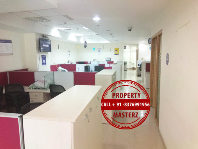 For sale Pre rented Commercial office space of 1056 sq ft DLF Towers jasola