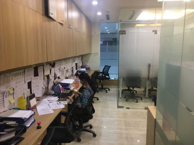 Rent Furnished office space in Dlf tower 7500 Sqft Jasola