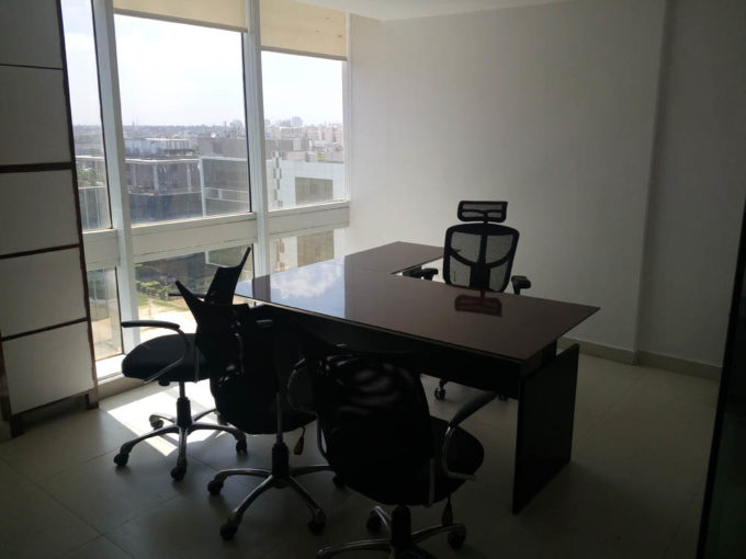 For sale Pre rented Commercial office space of 6250 sft sq Ft DLF Towers in  jasola