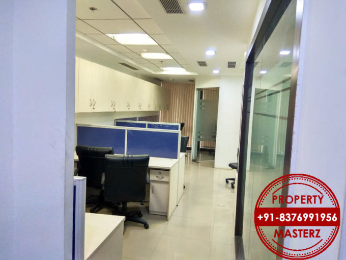 Commercial office space of 1057 sqft for rent in DLF Towers in jasola