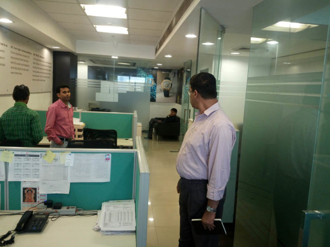 Rent Furnished office space in Dlf tower a jasola, Delhi