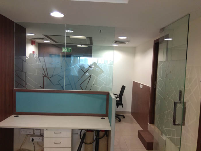 For Rent Jasola Dlf Tower furnished office space 1056sq ft