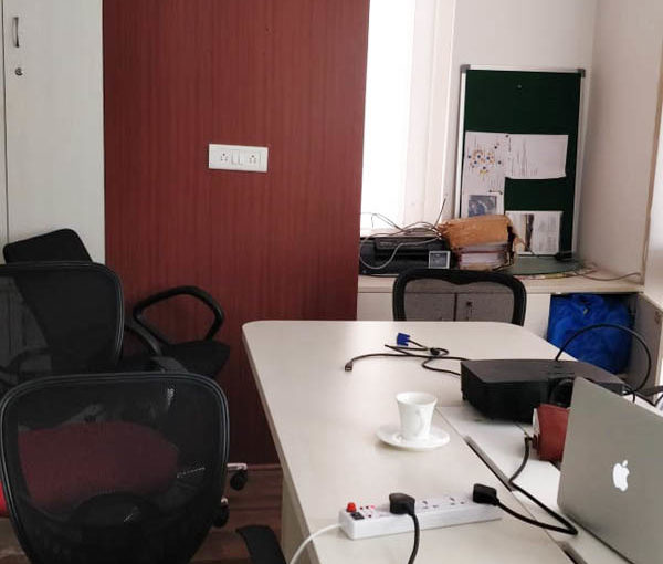 Commercial office space of 1821 sq. Ft. Is available for rent in jasola