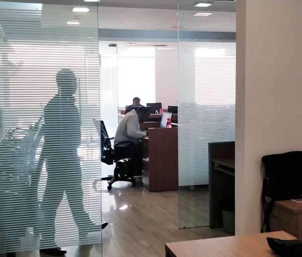commercial office space of 1821 sq. Ft rent in jasola